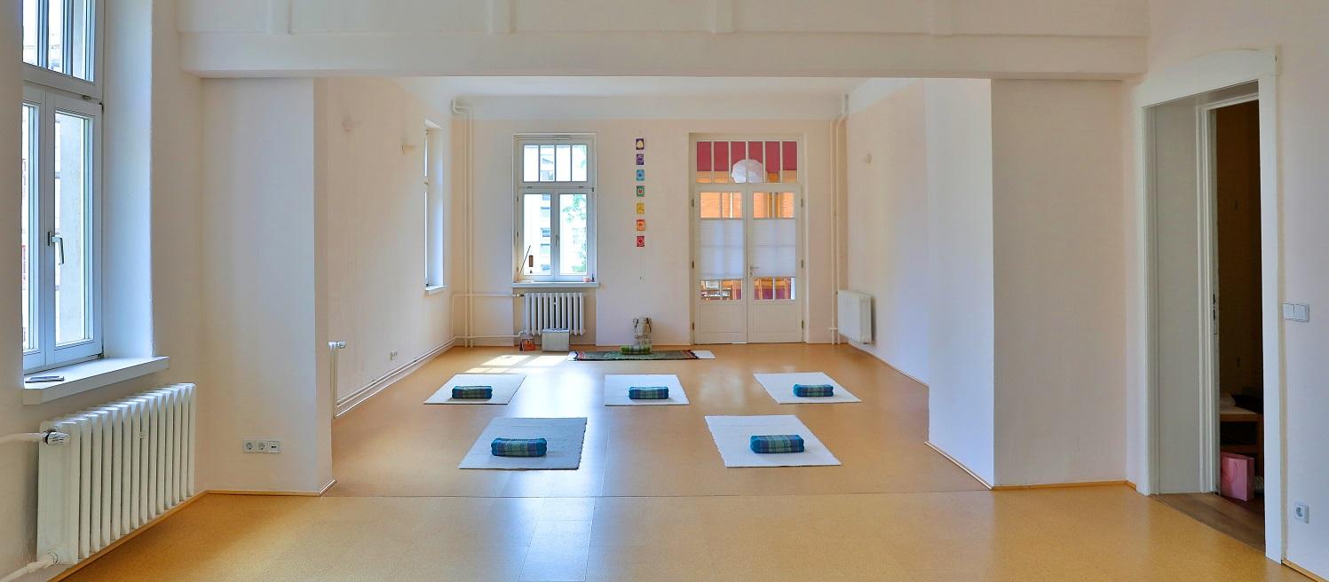 Yoga-Schule Karen Schmidt in Magdeburg - Vermietung Yogaraum