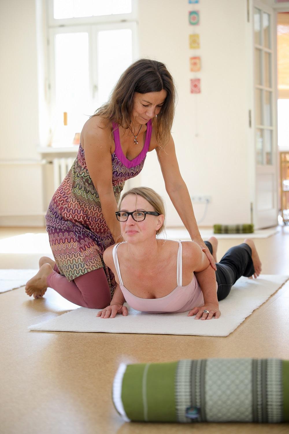 Yogaschule Karen Schmidt - Yoga-Einzelstunde